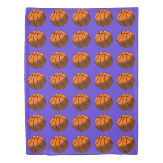 バスケットボールの羽毛布団カバー 掛け布団カバー