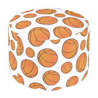 バスケットボールの花形選手パターン プーフ