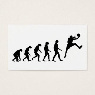 バスケットボールの進化 名刺