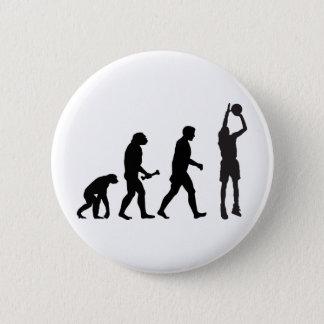 バスケットボールの進化 缶バッジ