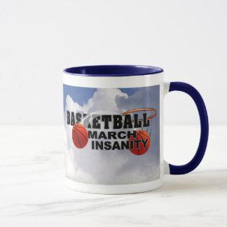 バスケットボールの3月の精神異常-カスタマイズ可能なバージョン2 マグカップ