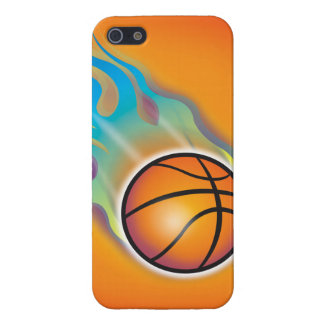 バスケットボールのiPhone 5/5Sの場合 iPhone 5 ケース