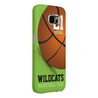 バスケットボールのSamsungの銀河系6の箱 Samsung Galaxy S6 ケース