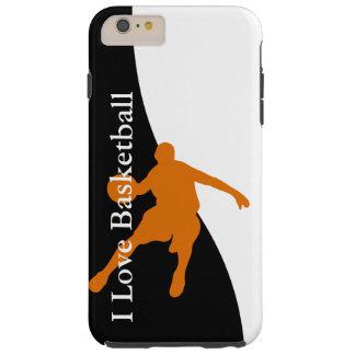バスケットボールはテーマを遊ばします シェル iPhone 6 ケース