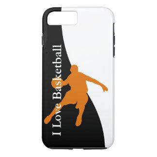 バスケットボールはテーマを遊ばします iPhone 7 PLUSケース