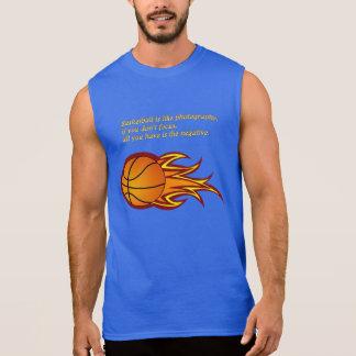 バスケットボールは写真撮影のようです 袖なしシャツ