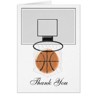 バスケットボールは感謝していしています カード