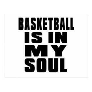 バスケットボールは私の精神にあります ポストカード