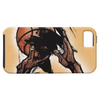 バスケットボールを保持している人 iPhone SE/5/5s ケース