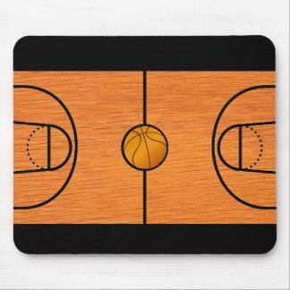 バスケットボールコートのマウスパッド-ユニークなバスケットボールのギフト マウスパッド