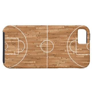 バスケットボールコートの場合カバー iPhone SE/5/5s ケース