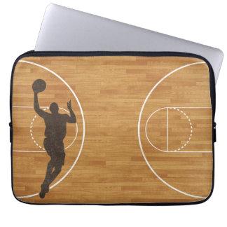 バスケットボールコートの男の子のラップトップスリーブ ラップトップスリーブ