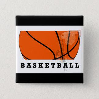 バスケットボールボタン 缶バッジ