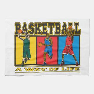 バスケットボール生き方 キッチンタオル