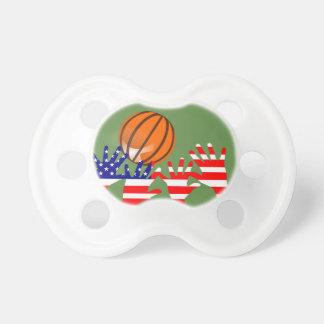 バスケットボール米国 おしゃぶり