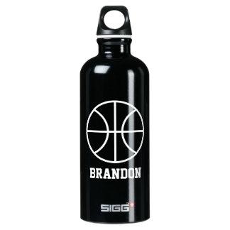 バスケットボール選手のための名前入りな水差し ウォーターボトル