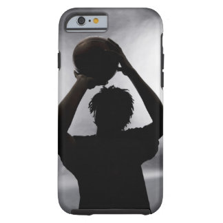 バスケットボール選手のシルエット ケース