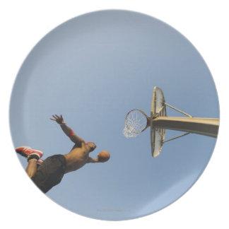 バスケットボール選手2 プレート