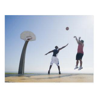 バスケットボール選手3 ポストカード