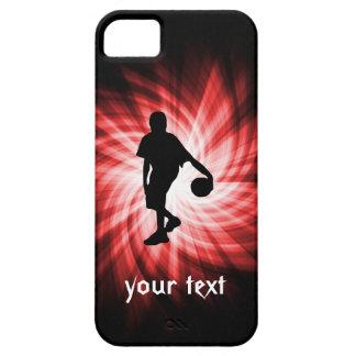 バスケットボール選手; 赤い iPhone SE/5/5s ケース