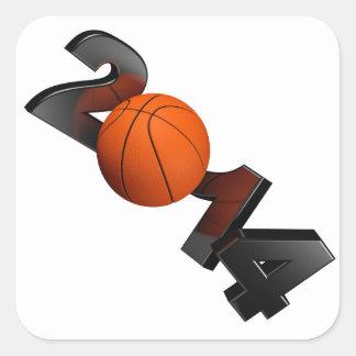 バスケットボール2014年 スクエアシール