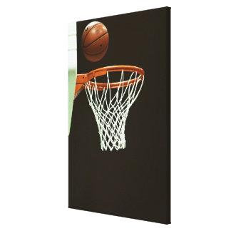 バスケットボール5 キャンバスプリント