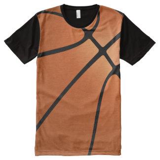 バスケットボール オールオーバープリントT シャツ