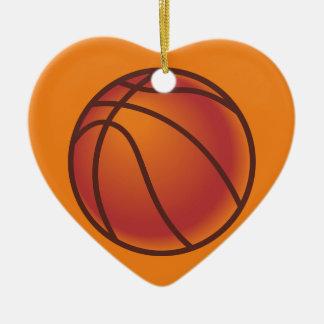 バスケットボール セラミックオーナメント