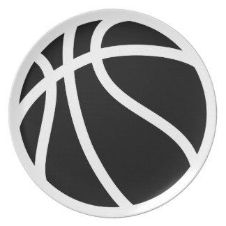 バスケットボール ディナー皿