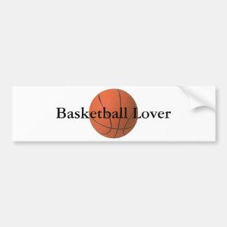 バスケットボール、バスケットボールの恋人 バンパーステッカー