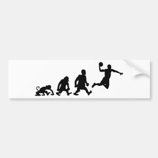 バスケットボール バンパーステッカー