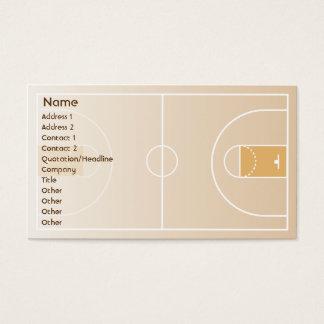 バスケットボール-ビジネス 名刺
