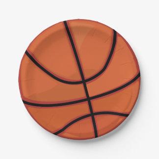 バスケットボール ペーパープレート