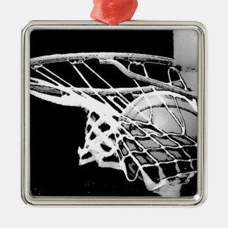 バスケットボール メタルオーナメント