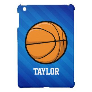 バスケットボール; ロイヤルブルーのストライプ iPad MINIカバー