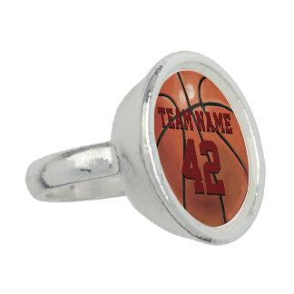 バスケットボール 指輪