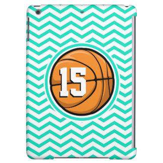 バスケットボール; 水緑のシェブロン