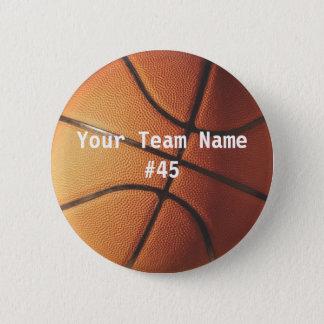 バスケットボール 缶バッジ