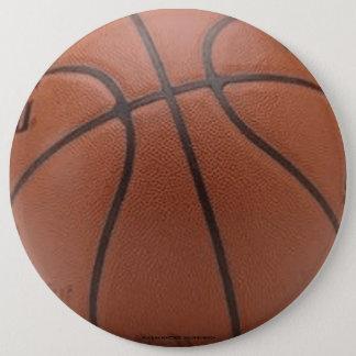 バスケットボール 15.2CM 丸型バッジ
