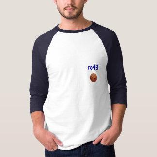 バスケットボール、ro43 raglan tシャツ