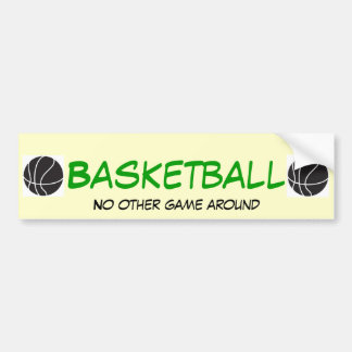 バスケットボールNOGA バンパーステッカー