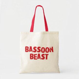 バスーンの獣Totebag トートバッグ