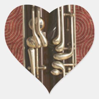 バスーンの鍵 ハートシール