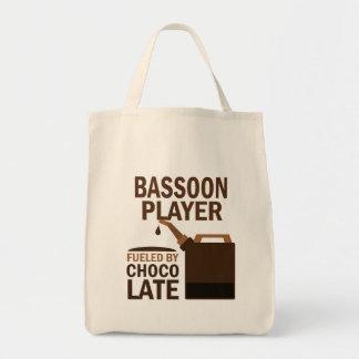 バスーンプレーヤーの(おもしろいな)チョコレート トートバッグ