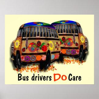 バス運転手は気になります ポスター