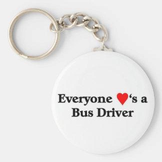 バス運転手 キーホルダー