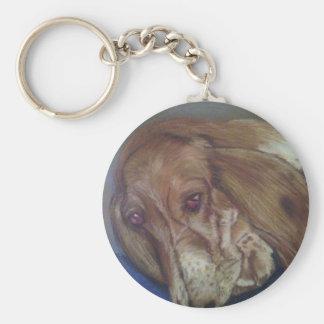 バセットの猟犬 キーホルダー