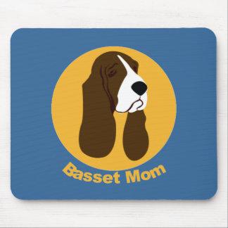バセットハウンドのお母さん マウスパッド