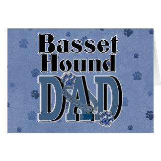 バセットハウンドのパパ カード