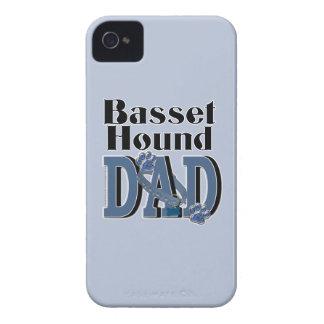 バセットハウンドのパパ Case-Mate iPhone 4 ケース